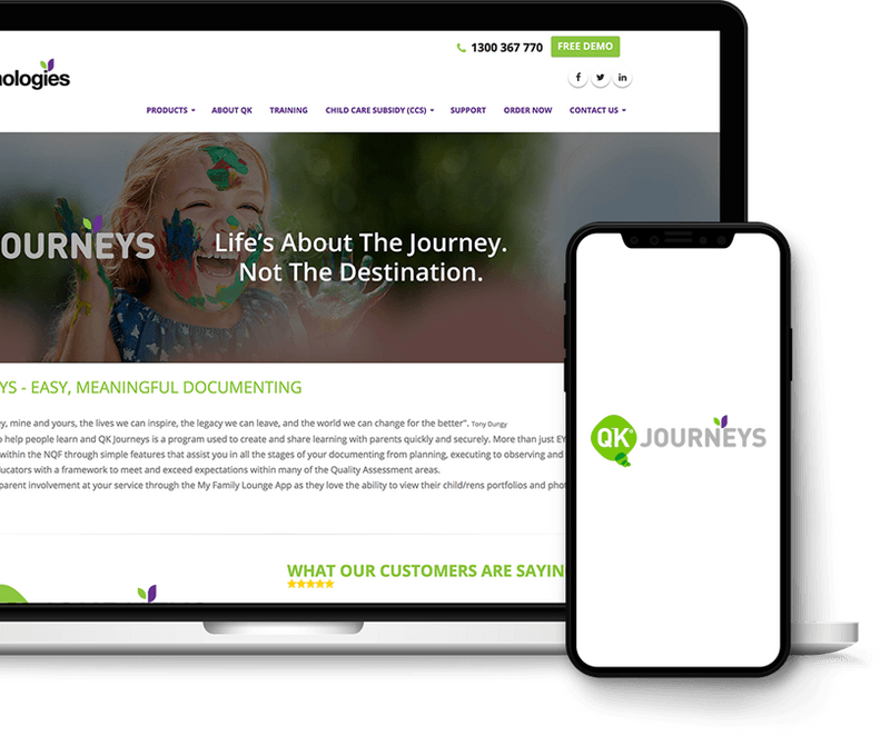 QK Journeys Curriculum Portal